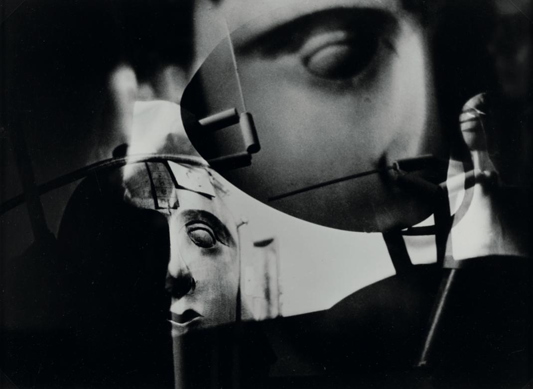 RAOUL HAUSMANN (1886 – 1971) –  Marionetten, 1958