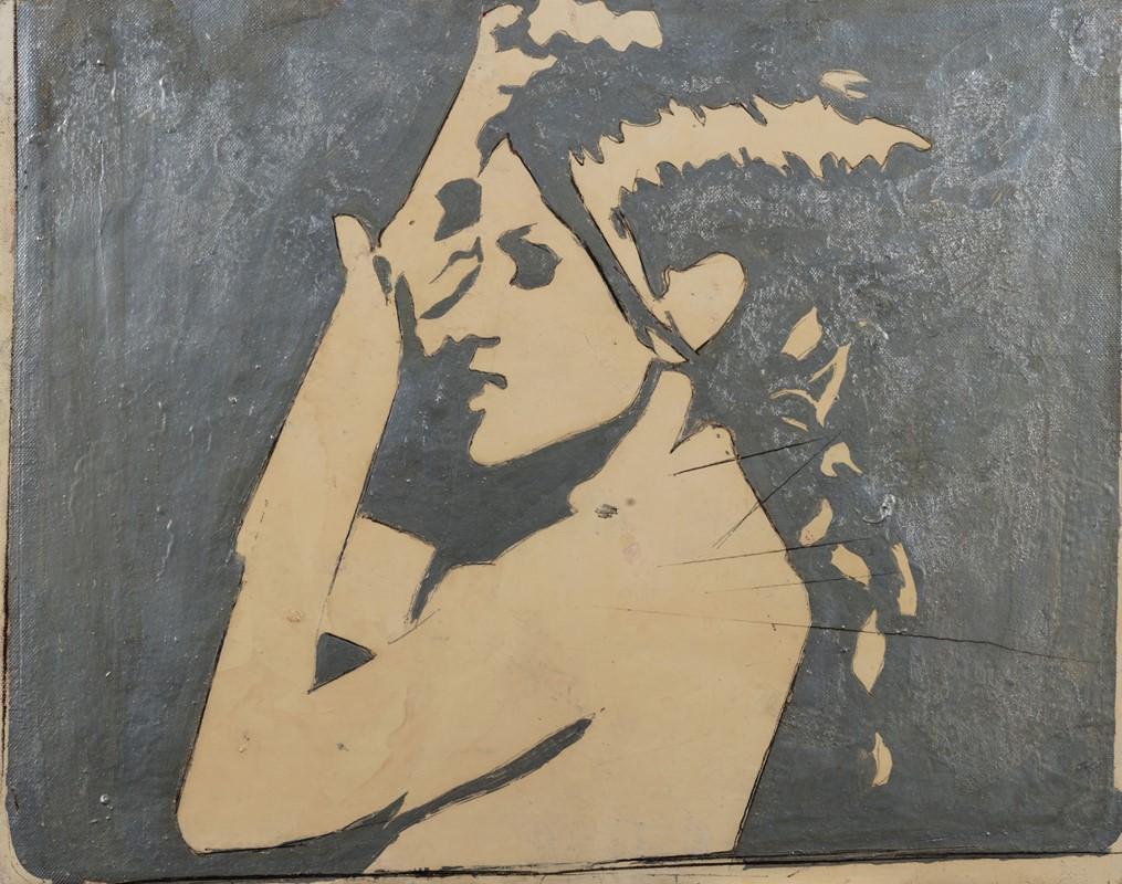 135 GIOSETTA FIORONI (1932) Senza Titolo – Per Paola , 1965