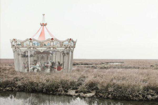 """Lotto 43: SILVIA CAMPORESI - """"Fantasmi #11 (la giostra)"""", 2011"""