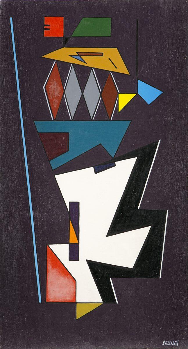 Lotto 127: ATANASIO SOLDATI – Equilibrio, 1949