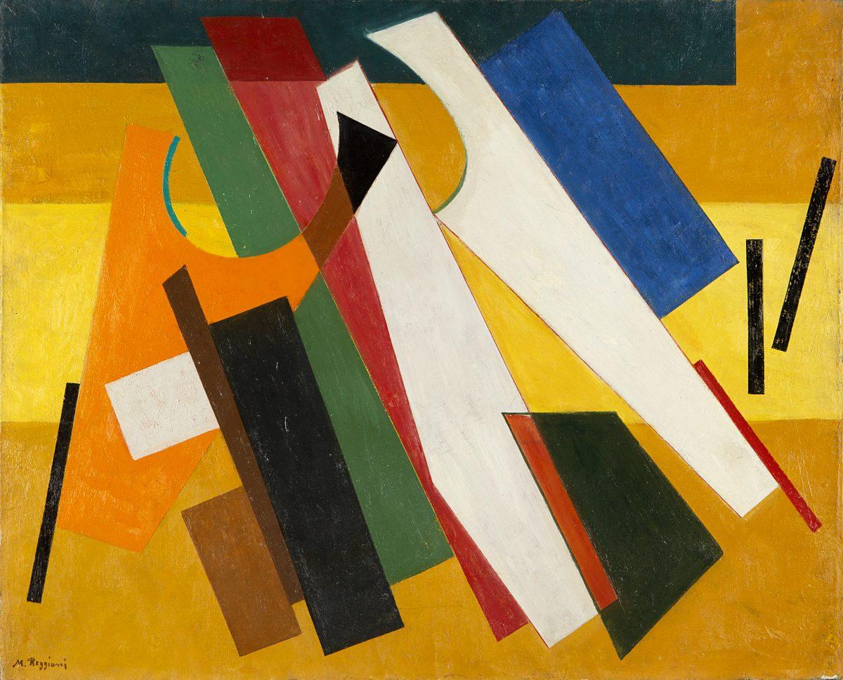 Lotto 128: MAURO REGGIANI – Composizione, 1950