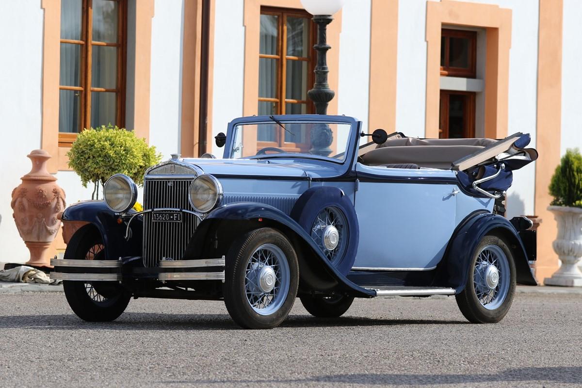 Lotto 231: 1932 Fiat 522 C Cabriolet Royale (Carrozzerie Speciali Fiat)