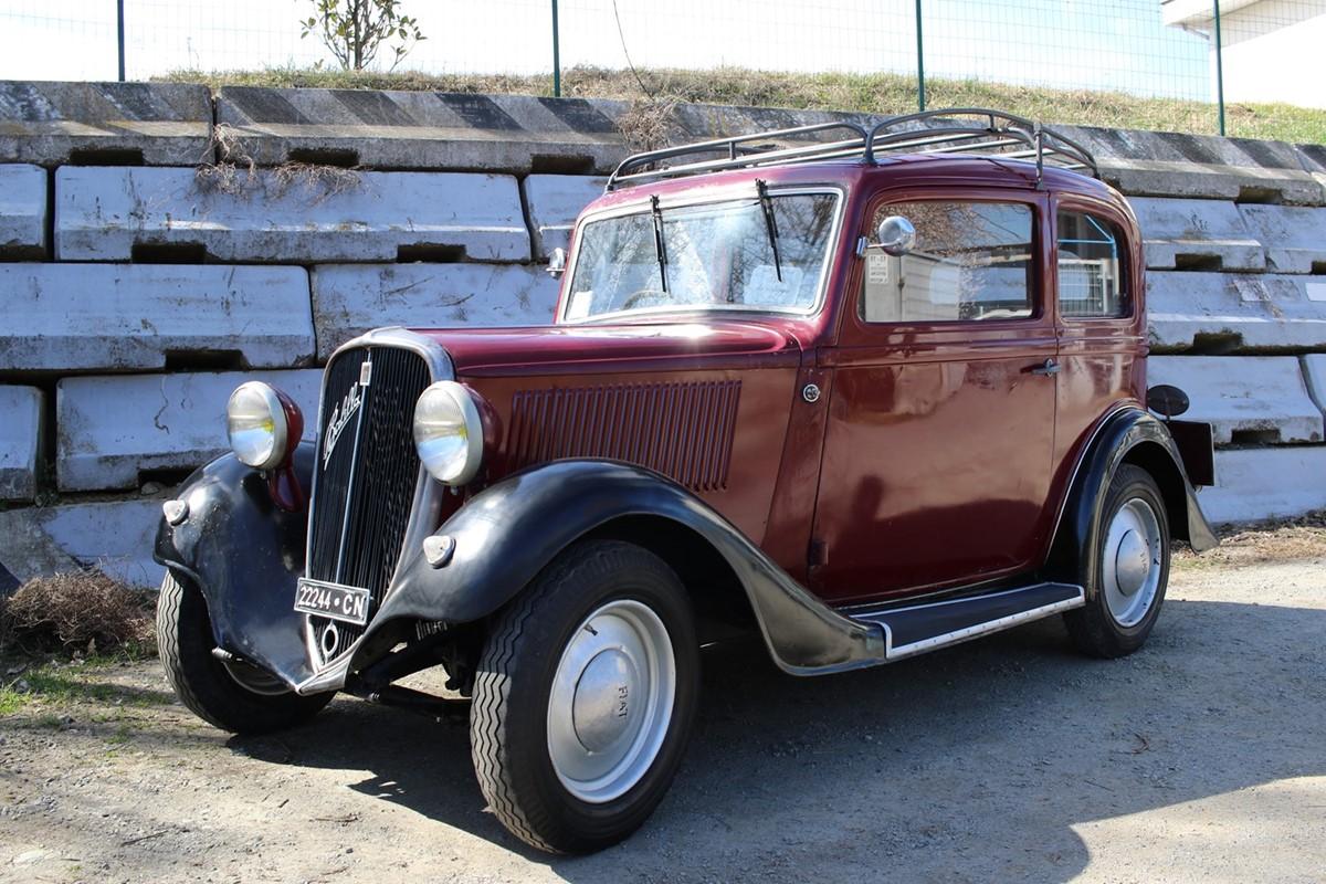 Lotto 234: 1935 Fiat 508 Balilla (Fiat)