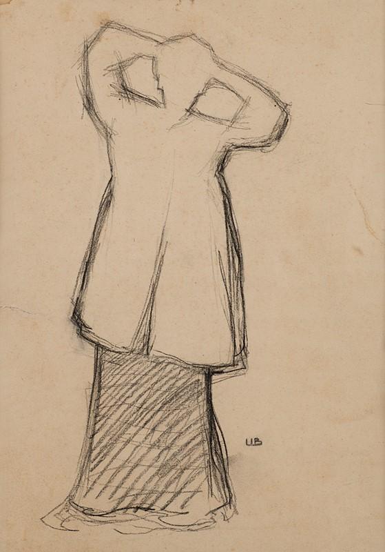 4 UMBERTO BOCCIONI – Donna Che Si Pettina, 1904