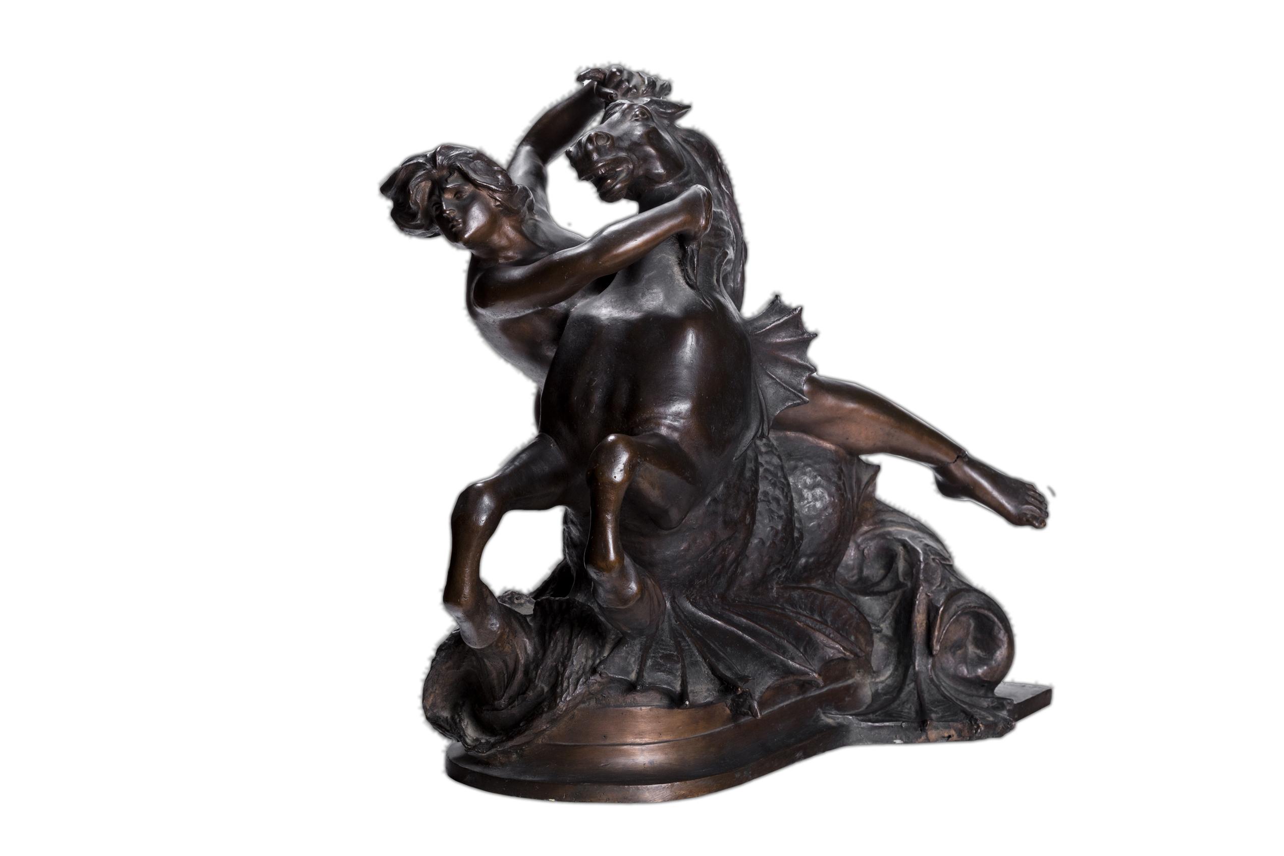 Lotto 74: MARIO RUTELLI (1859 - 1941) Oceanina (dalla Fontana delle Naiadi), 1901 circa