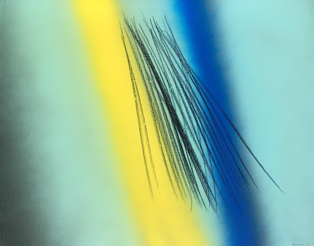 Lotto 109 HANS HARTUNG – T1972 H8, 1972