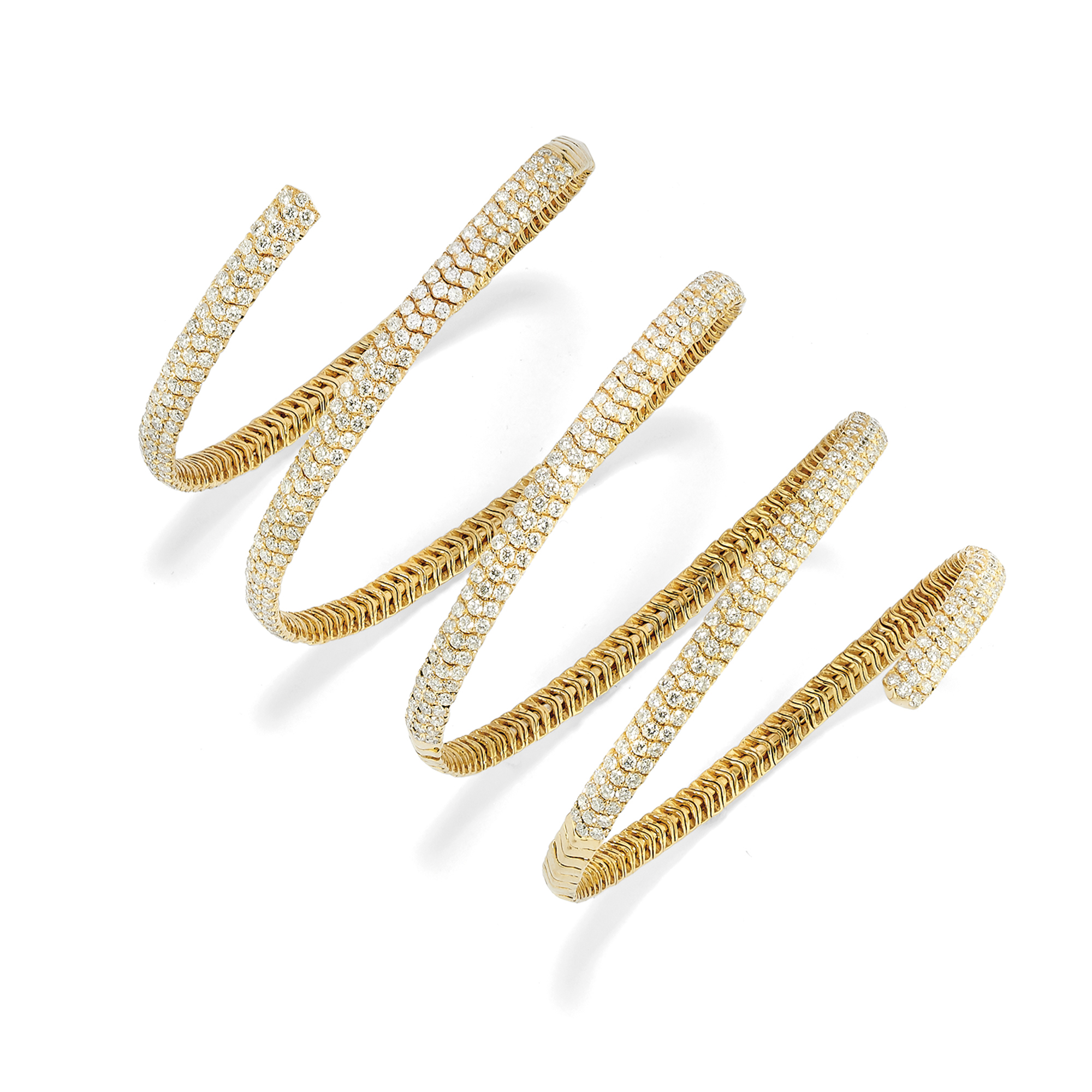 Lotto 68: Bracciale In Oro 18k E Diamanti