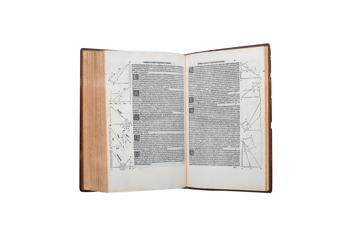 Lotto 507: Luca Pacioli – Summa De Arithmetica Geometria Proportioni & Proportionalita, 1494