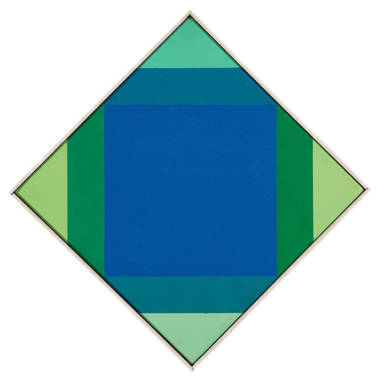 Lotto 133: MAX BILL –  Radiazione Dal Blue, 1972 73