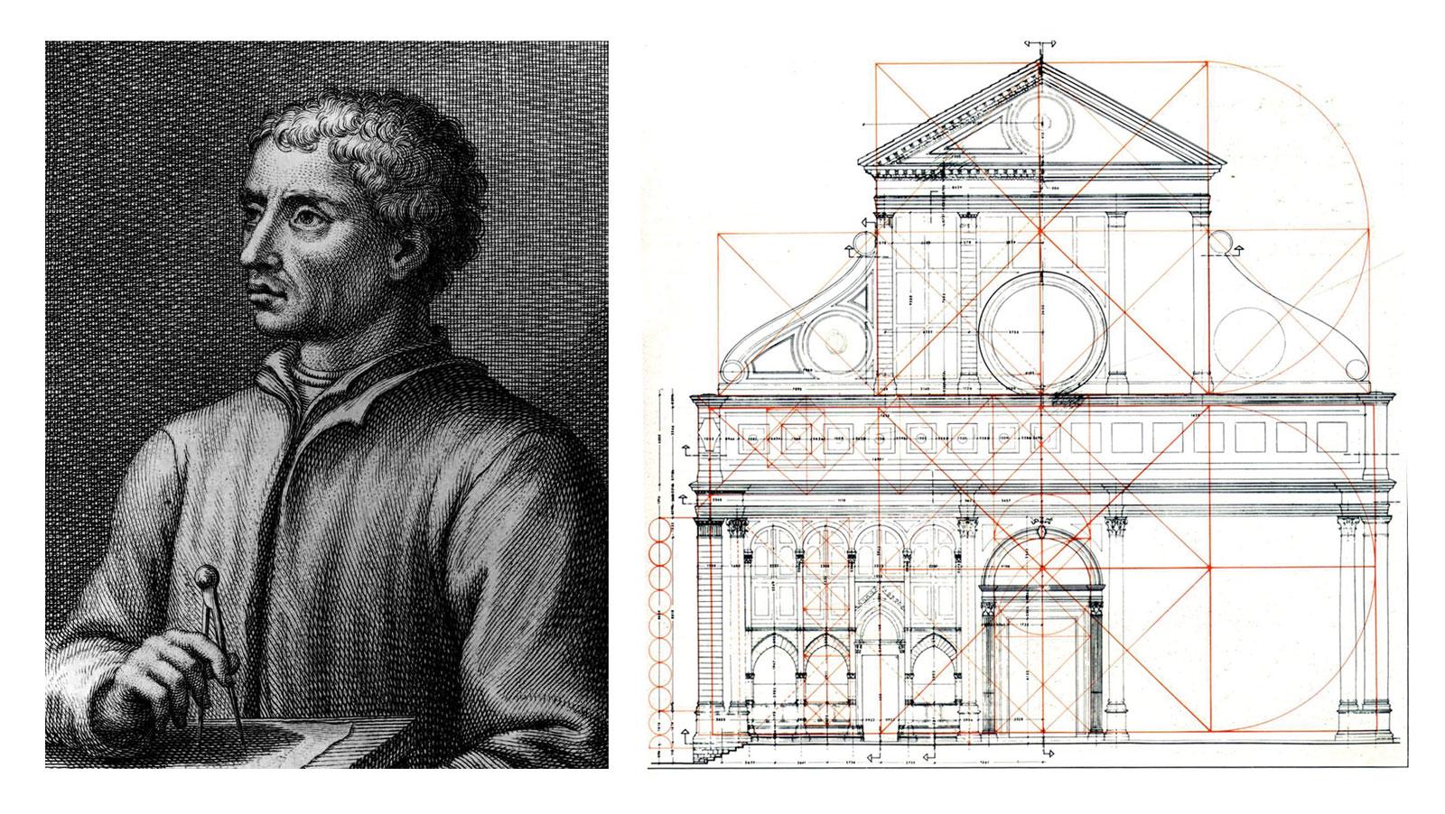 Leon Battista Alberti e il disegno di Santa Maria Novella