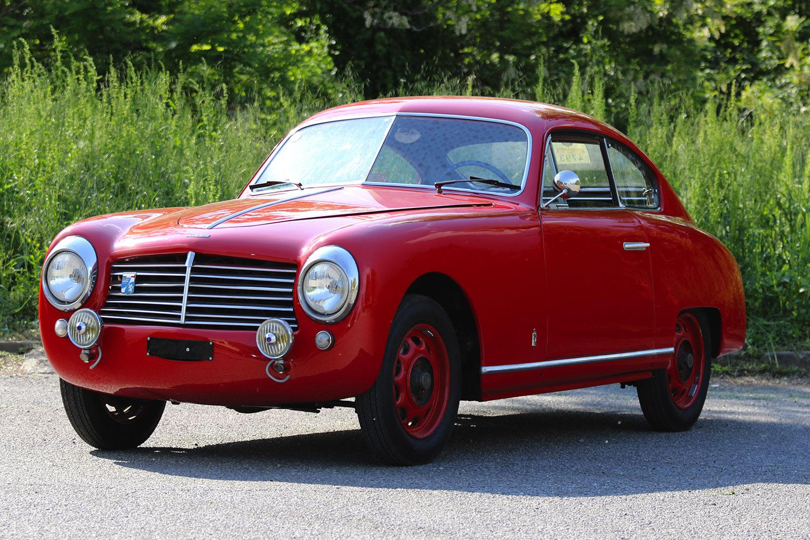 Fiat 1100 S Berlinetta (Pinin Farina), chassis no. 500336, del 1949
