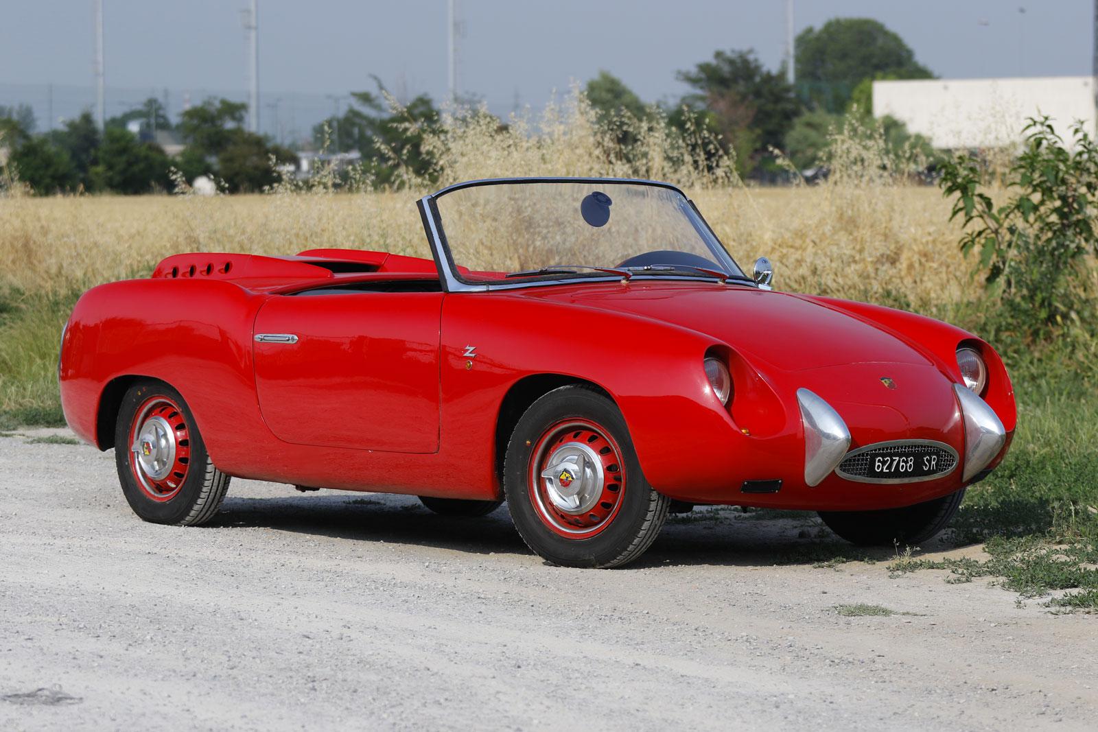 Fiat Abarth 750 Spyder (Zagato)