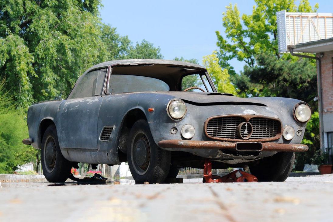 Maserati 3500 G.T. (Touring) chassis no. AM101*1714* del 1961