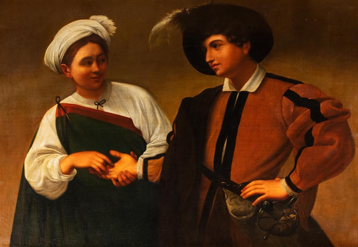 168 Scuola Italiana, Ultimo Quarto Del Secolo XVIII, Nei Modi Di Michelangelo Merisi, Detto Il Caravaggio