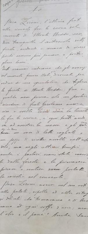 Lotto 6: GRAZIA DELEDDA – Manoscritti, Carteggi, Epistolario, Dipinti, 1920