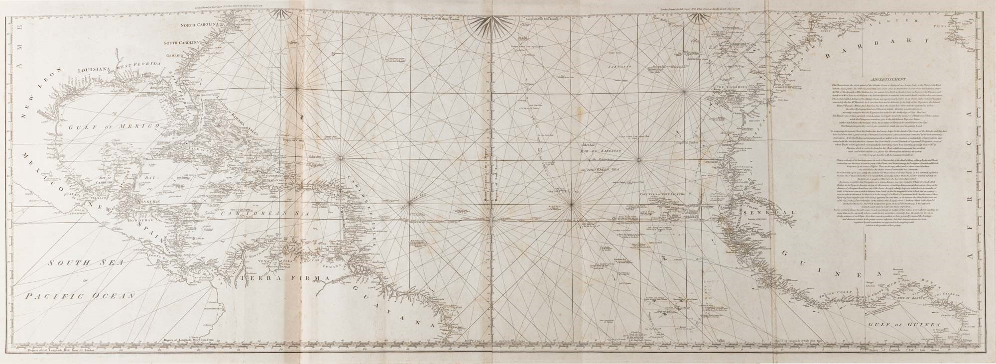 SAYER , ROBERT , BENNETT, JOHN - The East India Pilot, Oriental Navigator: containing A complete collection of charts, maps,..., 1700 / Venduto € 74.659,00