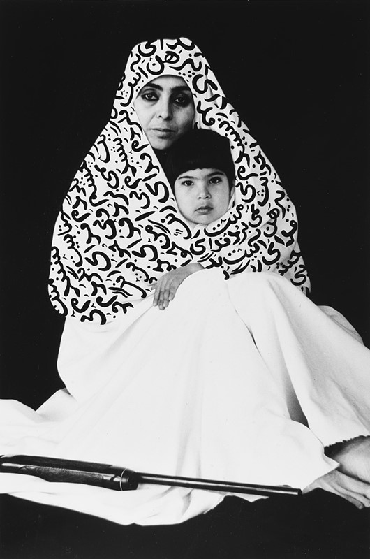"SHIRIN NESHAT, Untitled, dalla serie ""Women of Allah"", 1995 - Stima € 8.000 - 12.000"