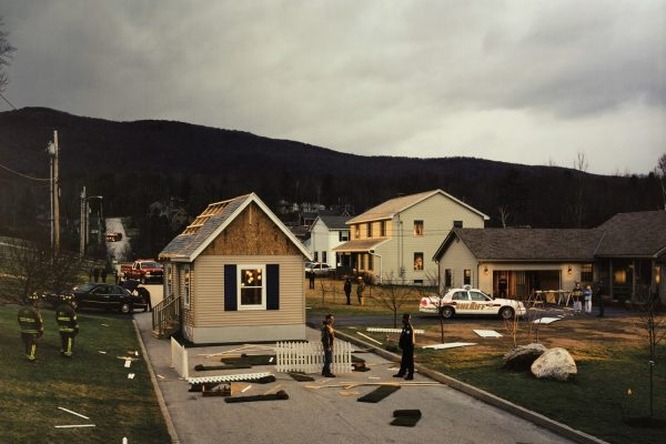 Gregory Crewdson, UNTITLED (HOUSE IN THE ROAD)