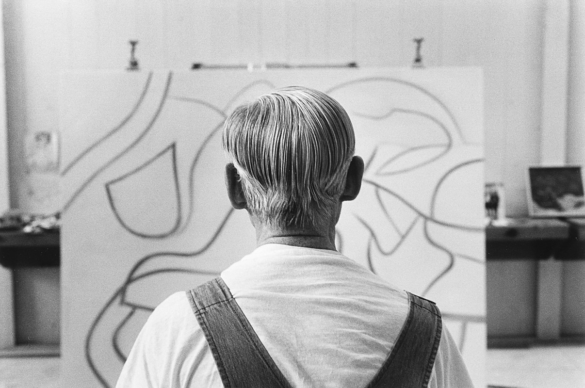 DUANE MICHALS, <em>Willem De Kooning</em>, 1985 – Venduto € 5.729