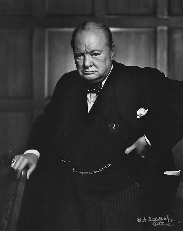 YOUSUF KARSH, <em>Winston Churchill</em>, 1941 – Venduto € 3.839