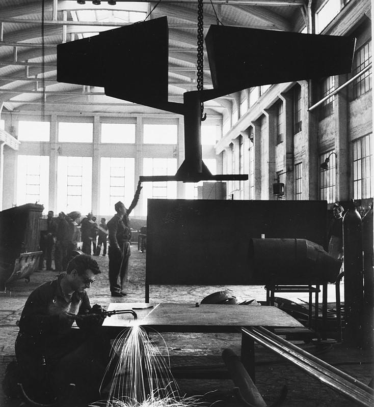 UGO MULAS, <em>Lynn Chadwick, Italsider Savona</em>, 1962 – Venduto € 1.216