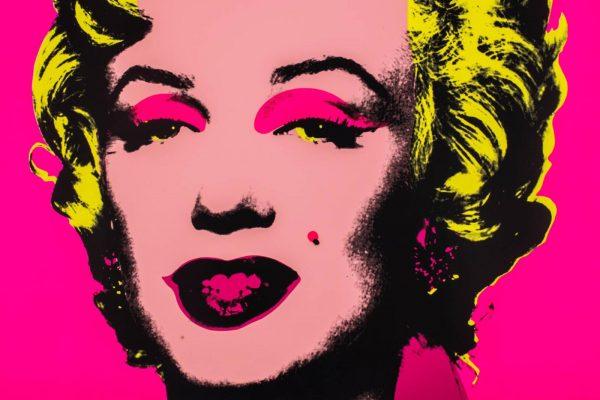 ANDY WARHOL, Marilyn (dettaglio), 1970 - Venduto € 13.900