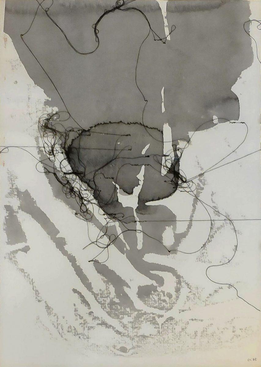 """Maria Lai, """"Pagina scritta"""", 1982   In asta a Roma il prossimo 27 aprile"""