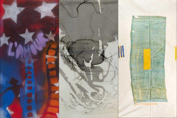 Dettagli delle opere di Giosetta Fioroni, Marina Lai e Isabella Ducrot