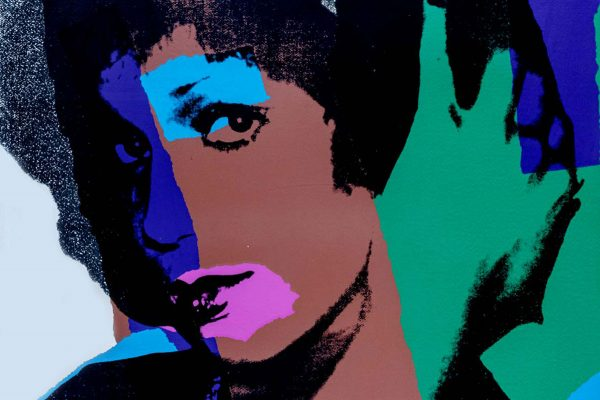 ANDY WARHOL, Ladies and Gentleman, Tav.5 (dettaglio), 1975