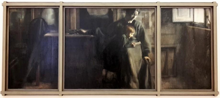 Giacomo Balla, Affetti (1910) - Galleria Nazionale d'Arte Moderna e Contemporanea, Roma