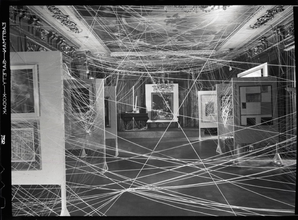 Marcel Duchamp, Sixteen Miles of String, New York, 1942 - Via Artribune.com