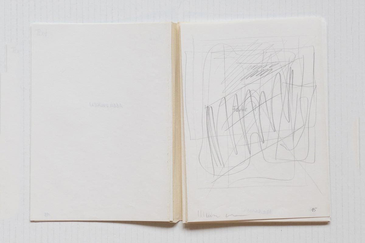 BLINKY PALERMO - Palermo - Zeichnungen [Arbeiten auf Papier] 1963 - 1973