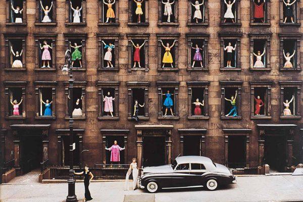 Lotto 182, ORMOND GIGLI, Girls in the Windows, New York, 1960 (dettaglio), Stima € 15.000 - 18.000
